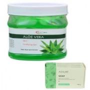 BIOCARE ALOEVERA GEL 500GM WITH ASSURE NEEM SOAP