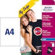 Fotopapper A4 T-shirt ljus 5/f