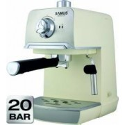 Espressor de cafea Samus Aroma 20 850W 20Bari 1.2L Crem-Inox
