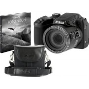 Nikon Máquina Fotográfica Bridge Coolpix B500 (Preto - 16 MP - ISO: 125-6400 - Zoom Ótico: 40x)