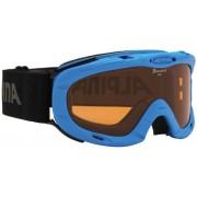 Alpina Ruby S Singleflex Hicon S1 goggles Kinderen zwart/petrol 2017 Goggles