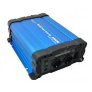 Tiszta szinuszú feszültség átalakító inverter 12v - 2000 watt