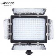 Andoer W160 Led Video Licht 6000 K 160 LEDs Camera licht voor Canon Nikon Pentax Sony (Alpha) Olympus Fujifilm DSLR DV Camcorder
