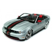 2010 Ford Mustang GT Convertible Silver 1:18 Pro Rodz