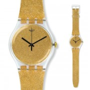 Orologio swatch donna suok122 nuit doree