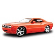 Dodge Challenger Concept, Orange Maisto Premiere 36138 1/18 Scale Diecast Model Toy Car