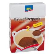 Filtre Cafea ARO Nr 2 100 BUC, set 3 pachete
