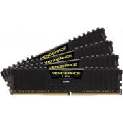 Memorie Corsair Vengeance LPX 16GB kit 4x4GB DDR4 3000Mhz CL15 Black