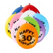 Baloane Happy Birthday 30