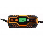 Global Digitális akkumulátortöltő 6v-12v 4amp