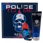 Police To Be Rebel подаръчен комплект EDT 75 ml + душ гел 100 ml за мъже