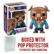 Funko Pop! Disney Series 2: Beauty & The Beast - The Beast Vinyl Figure (Bundled with Pop BOX PROTECTOR CASE)