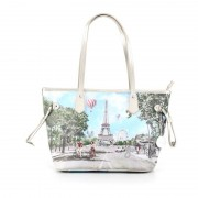 Y Not? Borsa Donna Y NOT Shopping Media a Spalla J-336 Champs Elysees