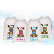 Fab Deco Ltd - Deco Matters From £7.99 for a large white personalised Christmas sack - choose from seven designs from Fab Deco Ltd - Deco Matters - save up to 68%