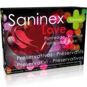 Saninex love preservativos 3 uds