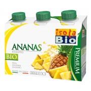 Bautura bio premium din ananas Isola Bio 3x200ml