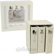 Caseta pentru botosei si set de trei albume foto bebelusi
