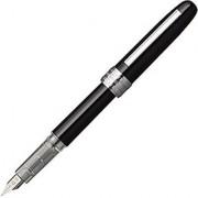 Platinum Plaisir Medium Nib Fountain Pen Black (PGB-1000-#1-M)