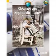 Schott Music Klezmer and Sephardic Tunes Kljuco, Akkordeon, Buch/CD