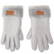 Дамски ръкавици UGG - W Turn Cuff Glove 17369 Light Grey
