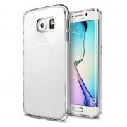 Husa Protectie Spate Ringke Fusion Crystal View plus folie protectie fata si spate pentru Samsung Galaxy S6 Edge