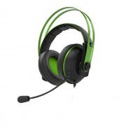 Asus Cerberus v2 Green Геймърски слушалки с два микрофона