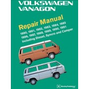Volkswagen Vanagon Official Factory Repair Manual: 1980, 1981, 1982, 1983, 1984, 1985, 1986, 1987, 1988, 1989, 1990, 1991: Including Diesel, Syncro, a