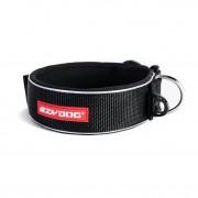 EzyDog Neo Wide - Brede halsband hond - Zwart - Size: Large