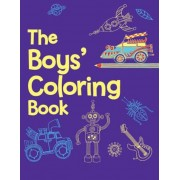 The Boys' Coloring Book, Paperback