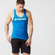 Myprotein Stringer Vest com Logo - XXL - Azul