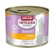 Animonda Cat Integra Protect Diabetes konzerv, csirke 200 g