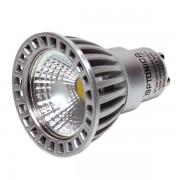 LED lámpa , égő , szpot , GU10 foglalat , 6 Watt , 50° , meleg fehér