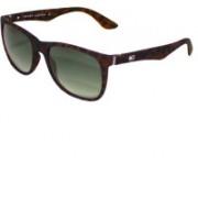 TOMMY HILFIGER Wayfarer Sunglasses(Grey, Green)