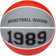 New Port basketbal Division rood/grijs maat 5