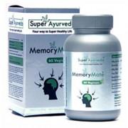Super Ayurveda Memory Mate - 60 Vegicaps