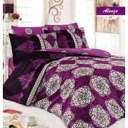 Lenjerie de pat, Majoli Bahar Home Collection, material: 100% bumbac, 110BHR2460