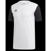 Estro 19 tricou de fotbal JSY Junior, Alb r. 116 (DP3234)
