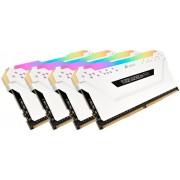Corsair Vengeance RGB Pro Weiß 32GB DDR4 Kit 2666-16 K4