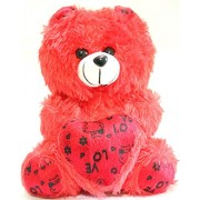 Kabir Kirtika Toys' Red Soft Teddy Bear for Home Decoration and Birthday Gift to Girl Or boy.