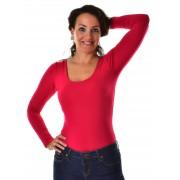 Mayo Chix női hosszú ujjú body TONDO m2018-2Tondo0816/piros