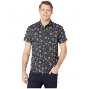 Robert Graham Castleden Short Sleeve Woven Shirt Black