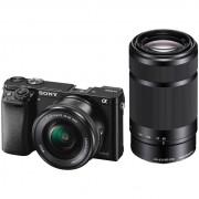Sony Alpha A6000 Zwart + PZ 16-50mm OSS + E 55-210mm