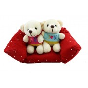Tickles Romantic Couple Sitting on Sofa Stuffed Soft Plush Toy for Kids