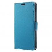 Samsung Galaxy A5 (2017) Textured Wallet Case - Blue