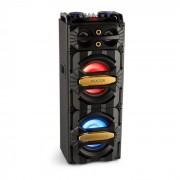 LIVE2101 Party Station 800 Watt Mediaplayer USB/BT 2x Microfono-In 6,3mm