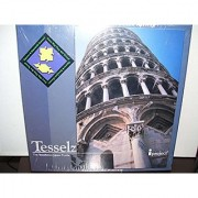 Tesselz Leaning Tower of Pisa Square and Diamond Series - Tessellation Jigsaw Puzzle