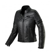 Spidi Ace Leather Lady Black Giacca Moto Pelle Donna