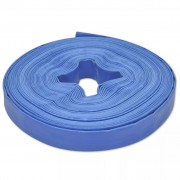 "25 m 1"" PVC Flat Water Delivery Hose"