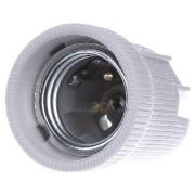 102599 - Fassung E27 Porz,ws,1-tlg,M4 102599
