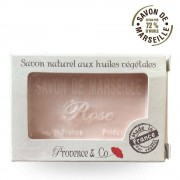Provence & Co Marseille Seife ROSE Provence et Co - 100gr